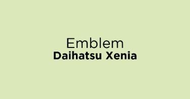 Emblem Daihatsu Xenia