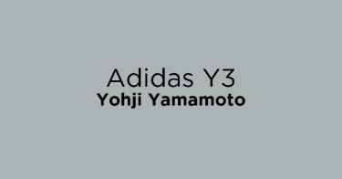 Adidas Y3 Yohji Yamamoto