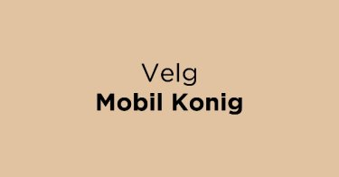 Velg Mobil Konig