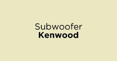 Subwoofer Kenwood