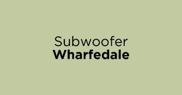 Subwoofer Wharfedale