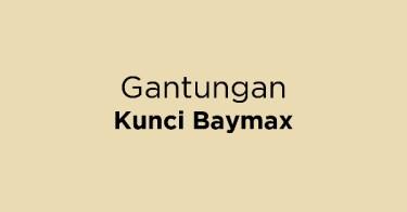 Gantungan Kunci Baymax