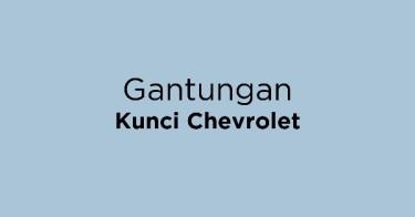 Gantungan Kunci Chevrolet