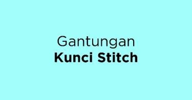 Gantungan Kunci Stitch