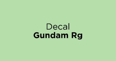 Decal Gundam Rg