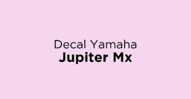 Decal Yamaha Jupiter Mx