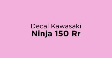 Decal Kawasaki Ninja 150 Rr