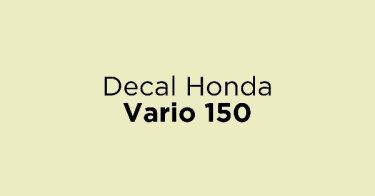 Decal Honda Vario 150