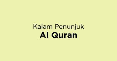 Kalam Penunjuk Al Quran