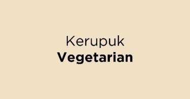 Kerupuk Vegetarian