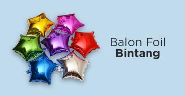 Balon Foil Bintang