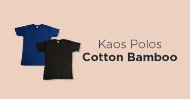 Kaos Polos Cotton Bamboo