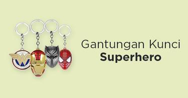 Gantungan Kunci Superhero