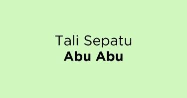Tali Sepatu Abu Abu