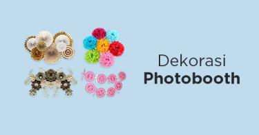 Dekorasi Photo Booth