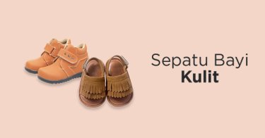 Sepatu Bayi Kulit