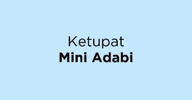 Ketupat Mini Adabi