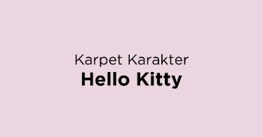 Karpet Karakter Hello Kitty