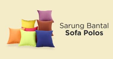 Sarung Bantal Sofa Polos