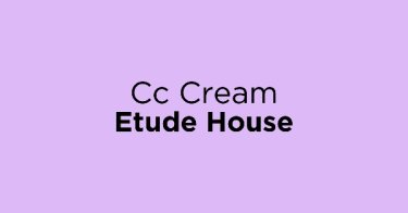 Cc Cream Etude House