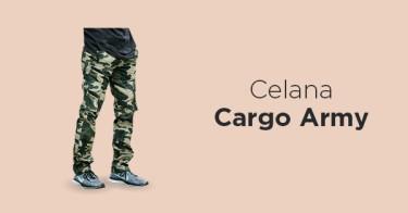 Celana Cargo Army