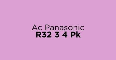 Ac Panasonic R32 3 4 Pk