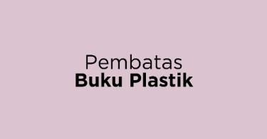 Pembatas Buku Plastik