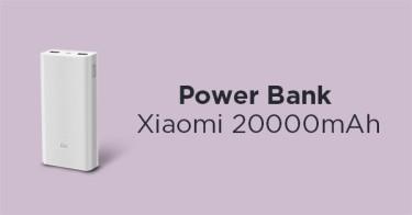 Power Bank Xiaomi 20000mAh