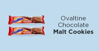 Ovaltine Chocolate Malt Cookies