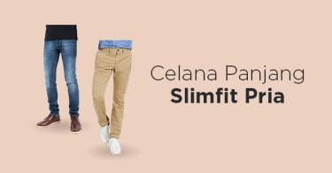 Celana Panjang Slimfit Pria