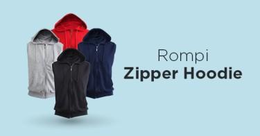 Rompi Zipper Hoodie