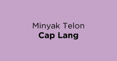 Minyak Telon Cap Lang