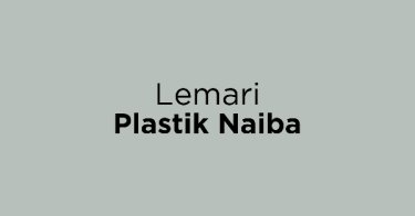 Lemari Plastik Naiba