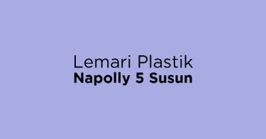 Lemari Plastik Napolly 5 Susun