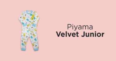 Piyama Velvet Junior