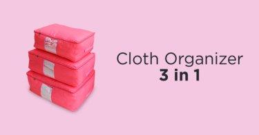 Cloth Organizer 3-in-1