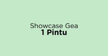 Showcase Gea 1 Pintu