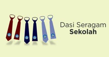 Dasi Seragam Sekolah