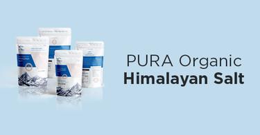 PURA Organic Himalayan Salt