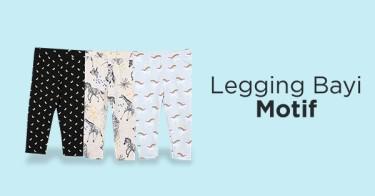 Legging Bayi Motif