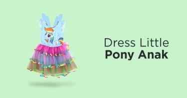 Dress Little Pony Anak