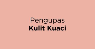 Pengupas Kulit Kuaci
