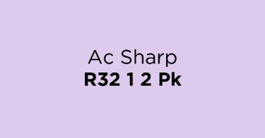 Ac Sharp R32 1 2 Pk