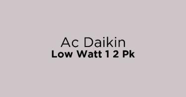 Ac Daikin Low Watt 1 2 Pk