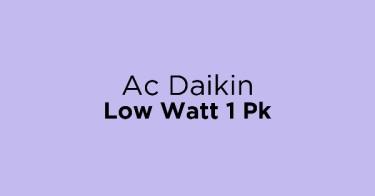 Ac Daikin Low Watt 1 Pk