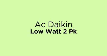 Ac Daikin Low Watt 2 Pk