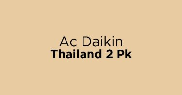 Ac Daikin Thailand 2 Pk