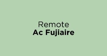 Remote Ac Fujiaire