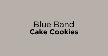Blue Band Cake Cookies