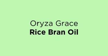 Oryza Grace Rice Bran Oil